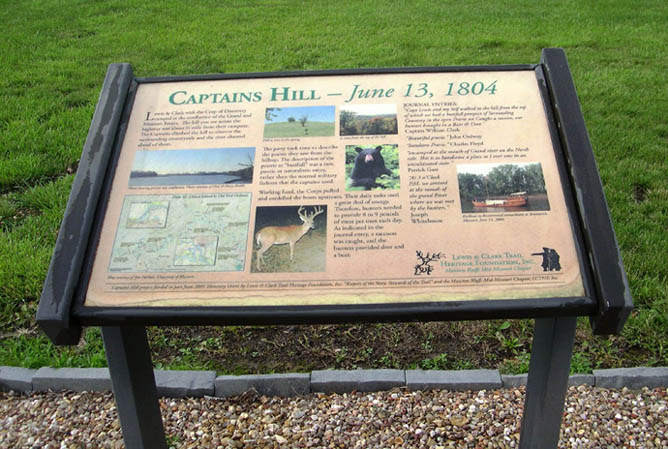 Brunswick, MO | Lewis & Clark's 'Captain's Hill' Waymark