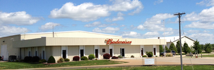 Brunswick Distributing Company Budweiser Distribution from Brunswick Missouri